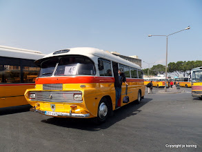 Photo: Floriana. Bus terminus.  http://www.loki-travels.eu/