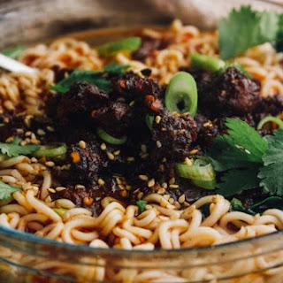 Mexican Dan Dan Noodles with Chorizo & Lime Recipe
