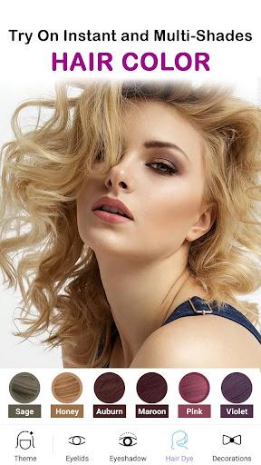 Face Makeup Camera - Beauty Makeover Photo Editor 11.5.33 screenshots 6