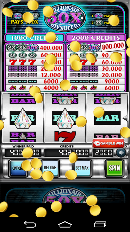 Millionaire 50x Slot Machine- screenshot
