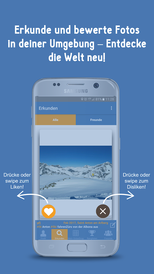 GlobeSnap - Travel, Snap, Live – Screenshot