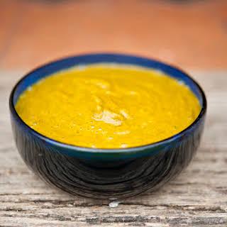 Homemade Habanero Hot Sauce.
