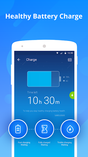 DU Battery Saver - Battery Charger & Battery Life screenshot for Android