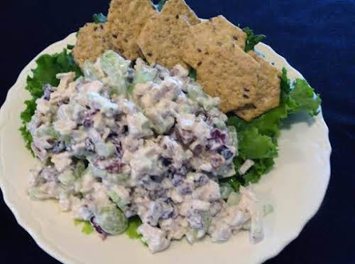"Click Here for Recipe: Uncle Wiley's Chicken Salad ""I made this today..."