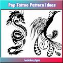 Pop Tattoo Pattern Ideas icon