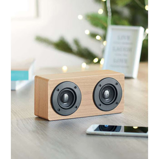 Wooden Wireless Speakers