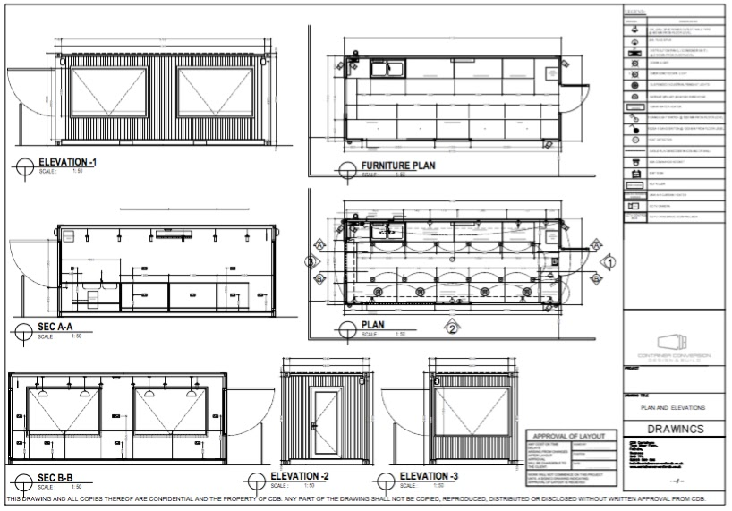 Converted Shipping Containers Design & Build UK | UK Shipping