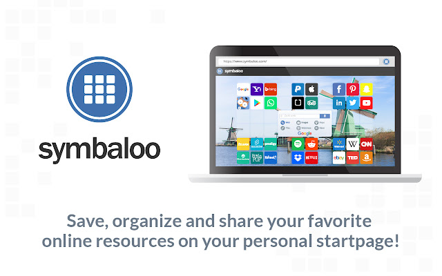 Symbaloo Homepage and Search