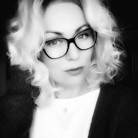by Adela Rusu - Black & White Portraits & People