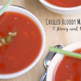 Bloody Mary Chilled Soup.
