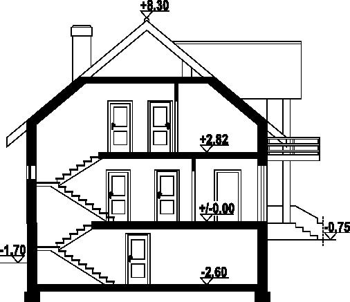 Jaworki 9m - Przekrój