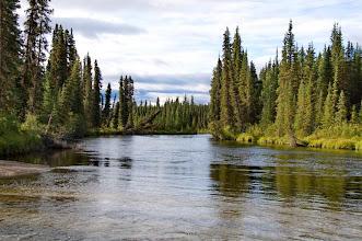 Photo: weiter geht es auf dem Big Salmon River