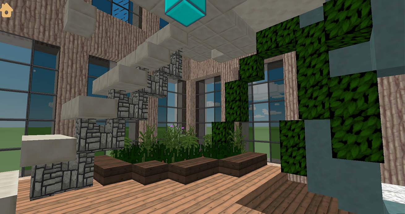 Penthouse for minecraft build ideas android apps on google play Create a house game
