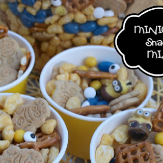 Minions Movie Snack Mix.