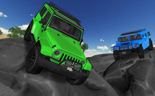 4x4 Offroad Truck Hill Climb