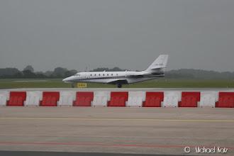 Photo: LN-SSS fra Sundt Air er visst også på plass på Groningen flyplass.
