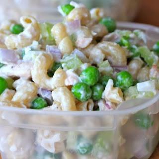 Clean Eating Tuna Pasta Salad.