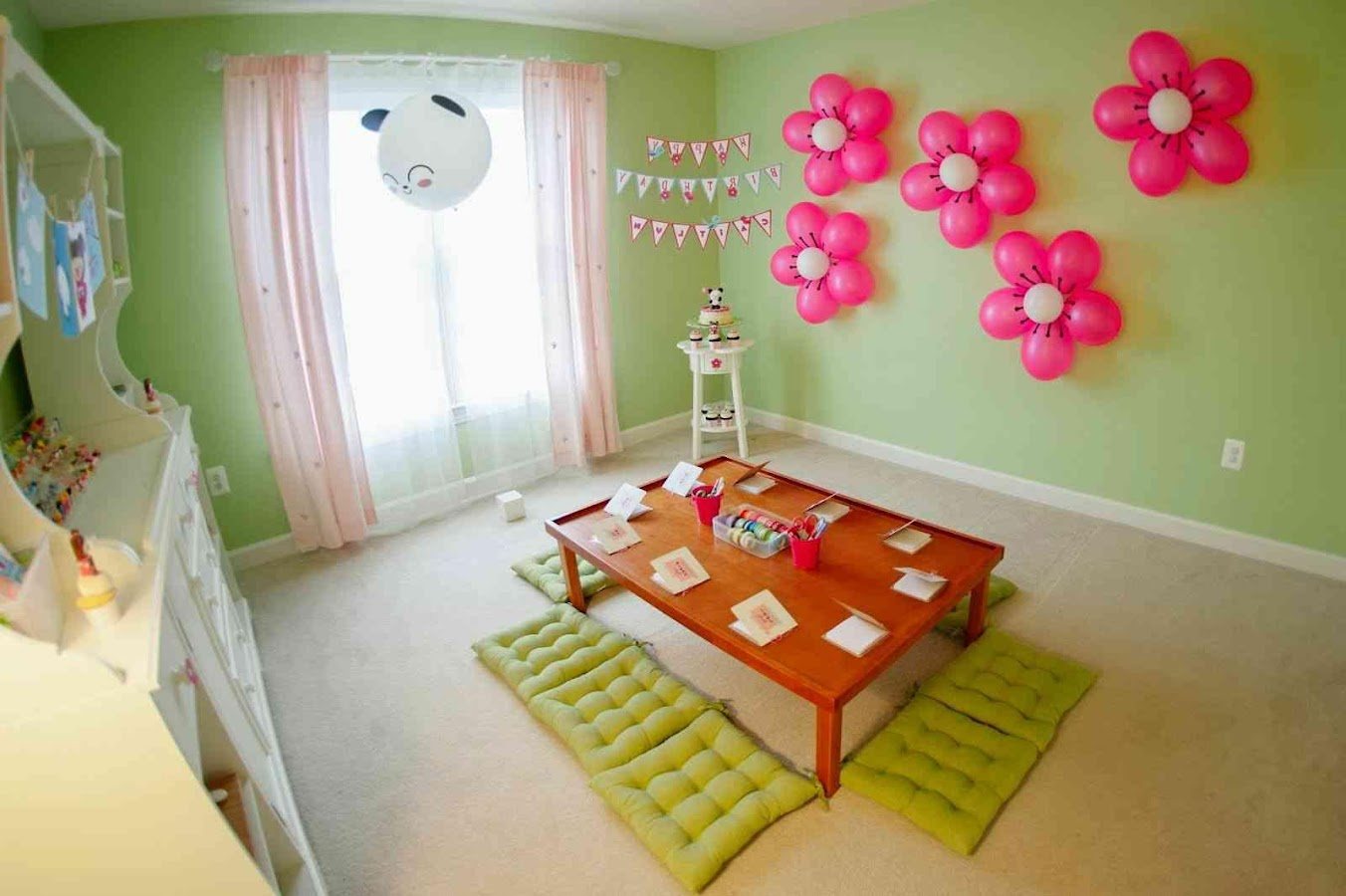 Bday Party Decorations At Home Kids Birthday Party Ideas At Home