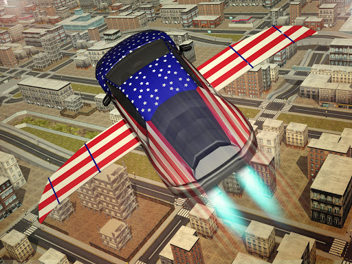 Free Flying Racing Car Driving 1.1 screenshots 5