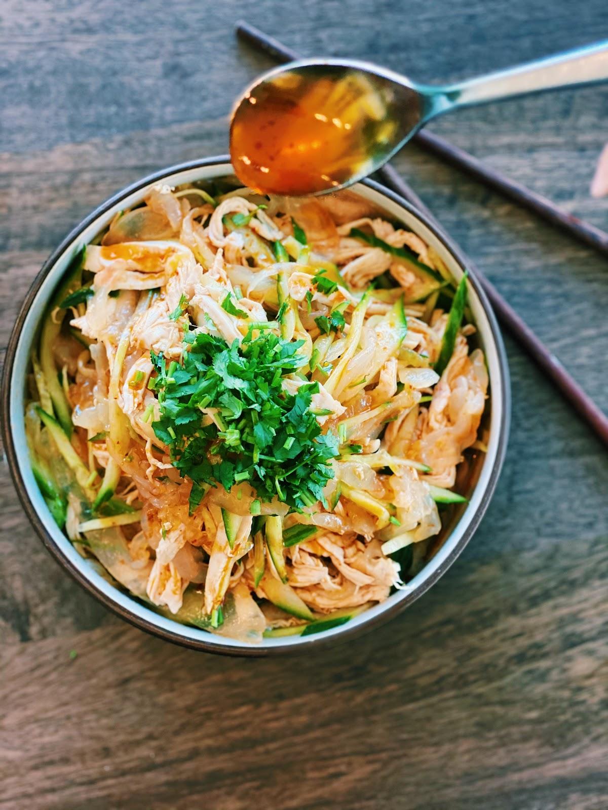 Spicy Jellyfish Salad