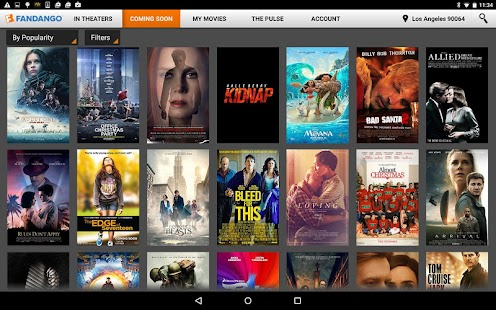 Fandango Movies for Tablets- screenshot thumbnail