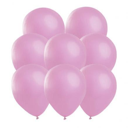 Ballonger, rosa 25 st