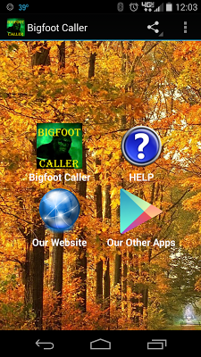 Bigfoot Caller - screenshot
