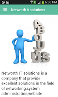 Screenshot of Networth It Solutions