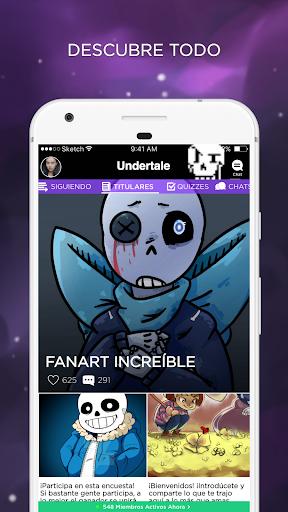 Undertale Amino en Espau00f1ol  gameplay | AndroidFC 1
