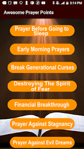 Download Awesome prayer Points APK latest version 5 0 for