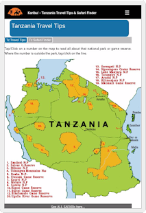 Tanzania Travel Tips- screenshot thumbnail