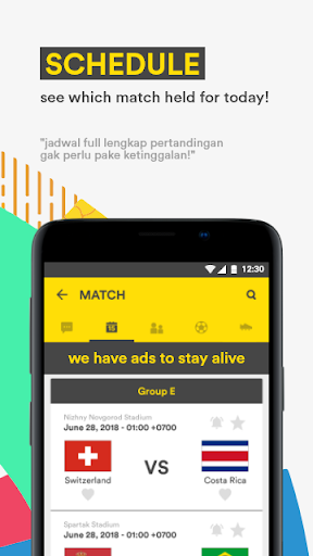 Golpanda for Asian Games 2018 & Gojek Liga Satu 1.6.2 screenshots 4
