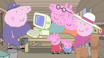 Grandpa Pig's Computer / Hospital