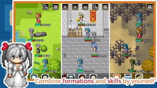 Unlimited Skills Hero - Strategy RPG screenshots 2