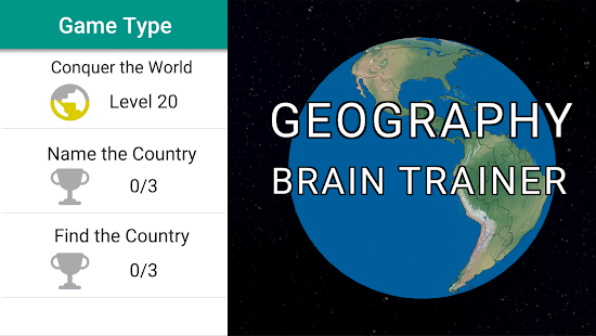 Geography Brain Trainer- screenshot thumbnail