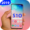 Themes for Samsung s10 plus: Galaxy s10 wallpaper icon