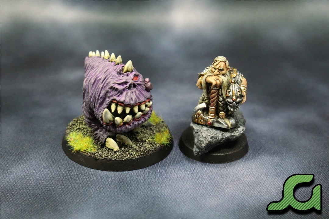 Dwarf and Squig