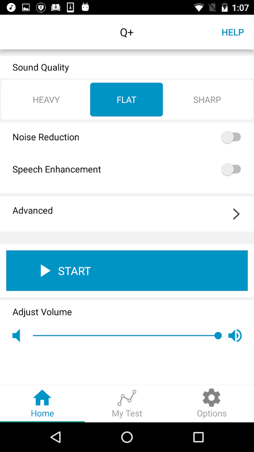 Q+ Hearing Aid- screenshot