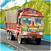 Indian Truck Cargo Duty Driver
