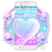 Love Heart Bubble Theme Android APK Download Free By Penmouse Design Technologies
