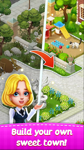 Town Story - Match 3 Puzzle Android App Screenshot