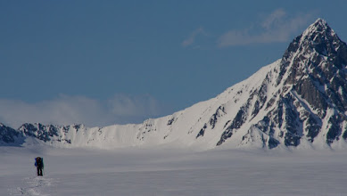 Photo: still on Seward Glacier.