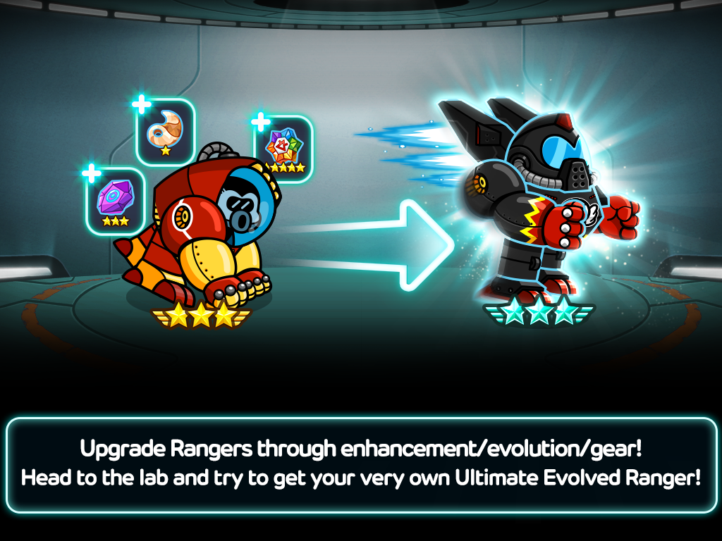 Screenshots of LINE Rangers for iPhone