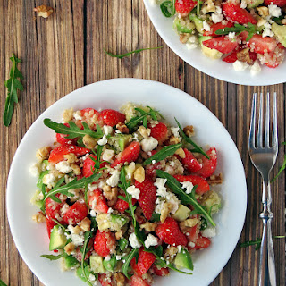 Quinoa Strawberry Avocado Salad