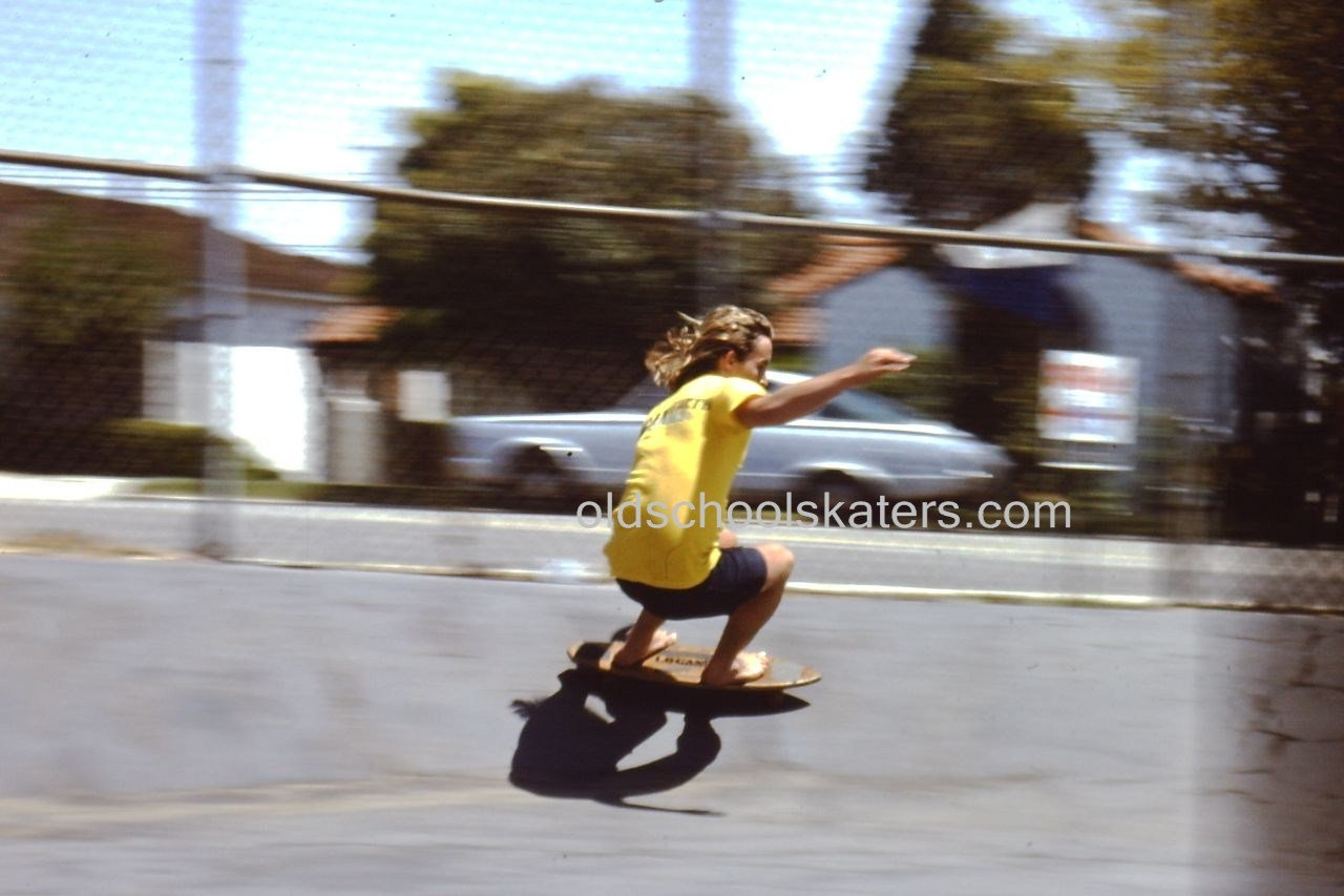 Photo: Woody leaning into a speed turn somewhere in the Palisades,  Paul Revere or Kenter maybe!