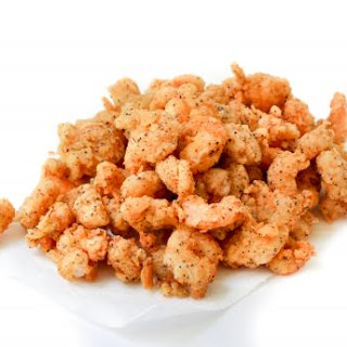 Battered Fried Crawfish Tails.