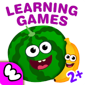 Funny Food! Learning Games for Kindergarten Kids 2