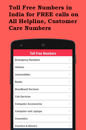 Toll Free Numbers