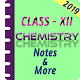Download Class 12 Chemistry Study Materials & Notes 2018-19 For PC Windows and Mac