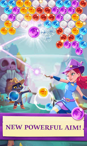 Bubble Witch 3 Saga screenshot 1